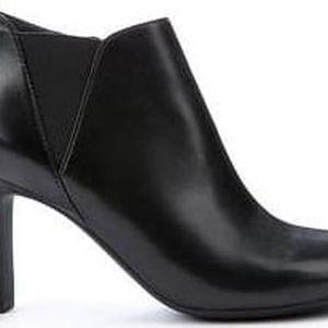 GEOX Dámské elegantní kotníkové boty Mariele High Black D5498A-000KF-C9999 40