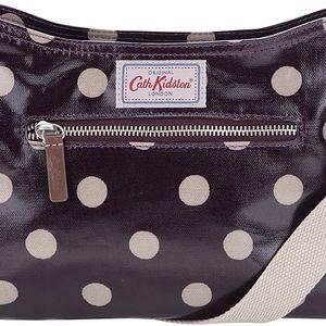 Fialová menší kabelka s puntíky Cath Kidston