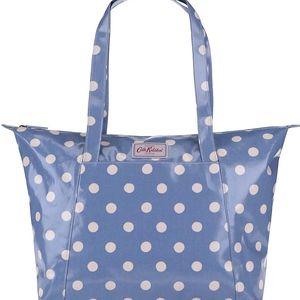 Modrý shopper s puntíky Cath Kidston