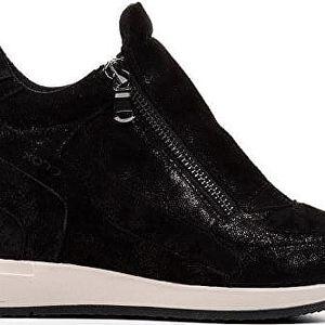 GEOX Elegantní dámské boty Nydame Black D620QA-000MA-C9999 38