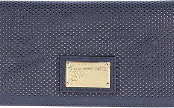Tmavě modrá dámská brogue peněženka Gionni Suellen