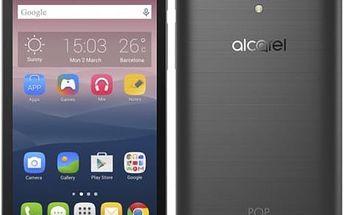 Mobilní telefon ALCATEL POP 4+ 5056D - dark gray (5056D-2GALE11) šedý