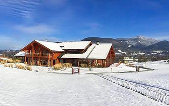Zimní sezóna v Green Inn Hotelu **** s neomezeným vstupem do wellness centra a na běžkařskou dráhu přímo v resortu pro 2 osoby