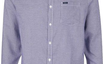 Modrá vzorovaná pánská košile Pepe Jeans Julen