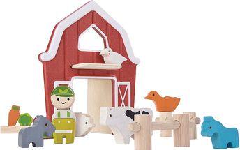 PLAN TOYS Farma se zvířátky