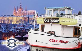 1–3hodinová plavba Prahou po Vltavě s možností rautu pro 1 osobu