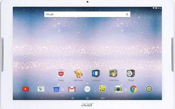 Dotykový tablet Acer Iconia One 10 (B3-A30-K72N) (NT.LCFEE.009) bílý Software F-Secure SAFE 6 měsíců pro 3 zařízení (zdarma) + Doprava zdarma