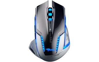 Bezdrátová herní myš E-BLUE Mazer-R II s modrým podsvícením