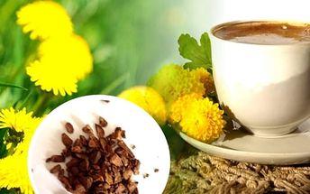 Pampelišková káva. Pražený pampeliškový kořen, to je přírodní produkt s lahodnou chutí, bez kofeinu i lepku. Nepřekyseluje organismus, reguluje vysoký krevní tlak a cholesterol, dodává energii a zlepšuje imunitu.