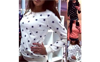 Dámské tričko s hvězdičkami Alisha