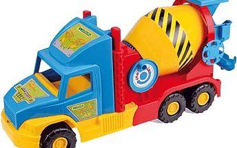 WADER Auto Super Truck domíchávač 53 cm - různé barvy