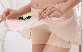 Dámské modální kalhotky s krátkou sukní
