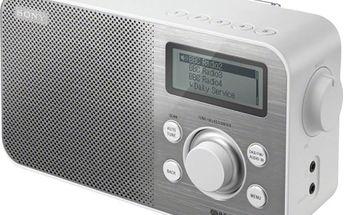 Sony XDR-S60DBP, bílá - XDRS60DBPW.CED