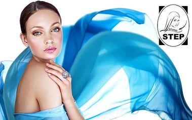 120minutový dámský beauty balíček včetně střihu v pražském studiu Step