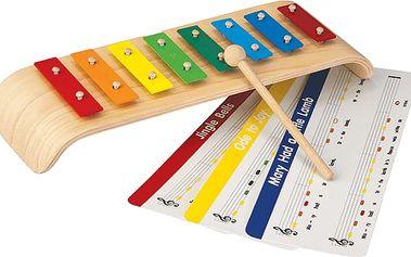 PLAN TOYS Melodický xylofon