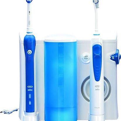 Orální centrum Oral-B Oxyjet+3000OC20 bílý/modrý + Doprava zdarma