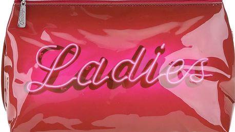Růžová toaletní taštička Catseye London Ladies