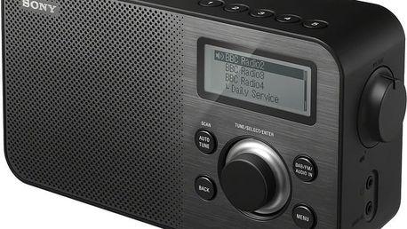 Sony XDR-S60DBP, černá - XDRS60DBPB.CED