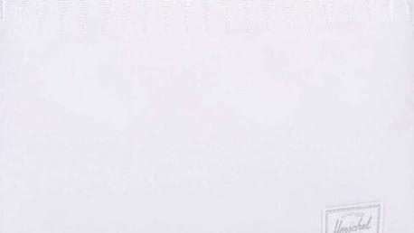 Bílé dámské pouzdro na zip Herschel Network Large