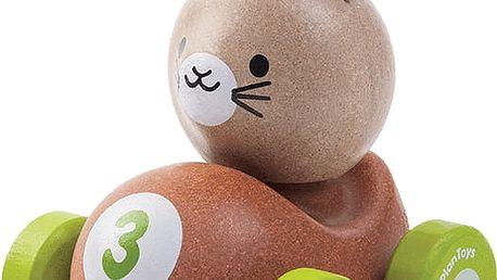 PLAN TOYS Závodník - králíček