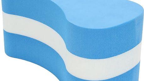 Pěnový plovák do bazénů v modrobílé barvě