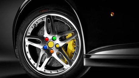 Silikonové kryty na šrouby kola 21 mm v různých barvách