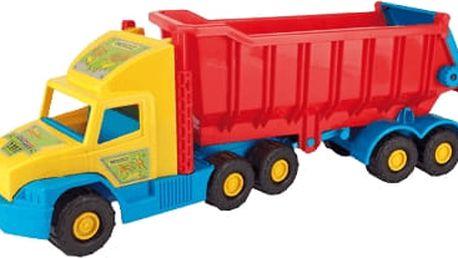 WADER Auto Super Truck sklápěč plast 75 cm v síťce 1+ rok