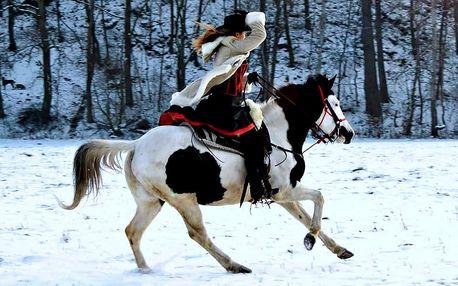 60minutová westernová projížďka na koni