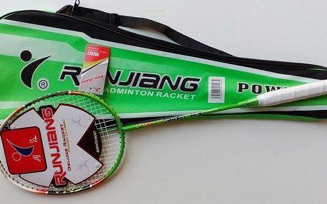 Badmintonová raketa carbon