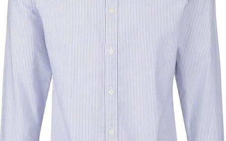Bílo-modrá pruhovaná slim fit košile Selected Homme Vince