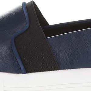 Tmavě modré dámské slip on tenisky ALDO Glaser
