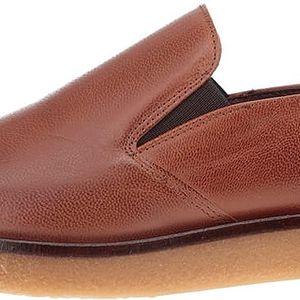 Hnědé kožené loafers OJJU Ricky