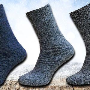 3 páry pánských vlněných ponožek