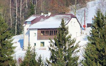 3–6denní pobyt pro 2 osoby v horské chatě Hubertus v Jizerských horách