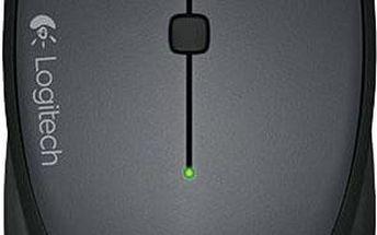 Logitech Wireless Mouse M335, černá - 910-004438