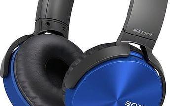 Sony MDR-XB450AP, modrá - MDRXB450APL.CE7