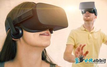 Mobilní virtuální realita na váš večírek až na 5 hodin všude v ČR
