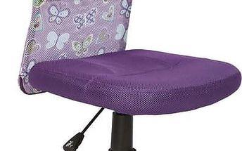 Halmar Dětská židle Dingo fialová