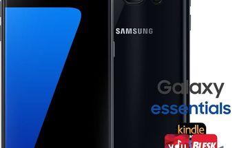 Samsung Galaxy S7 - 32GB, černá - SM-G930FZKAETL + Zdarma GSM reproduktor Accent Funky Sound, modrá (v ceně 299,-)