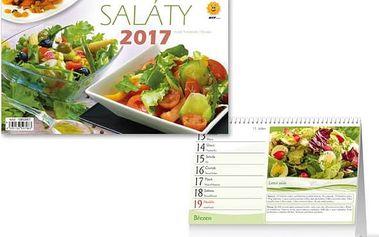 Stolní kalendář 2017 - Saláty - dodání do 2 dnů