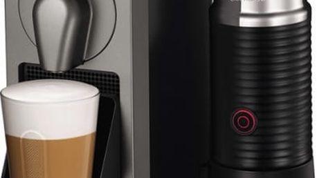 Espresso Krups Nespresso Prodigio XN411T10 černé/titanium