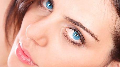 Permanentní make-up na oční linky, obočí či kontury rtů v salonu Aura Belle v Praze