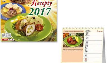 Mini kalendář 2017 - Recepty - dodání do 2 dnů