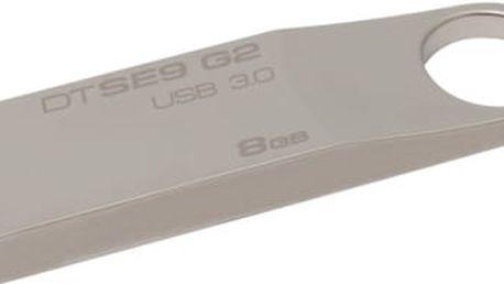 USB Flash Kingston 8GB (DTSE9G2/8GB) kovový
