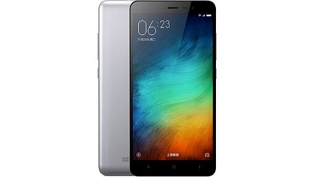 Xiaomi Note 3 LTE - 16GB, šedá - 472558