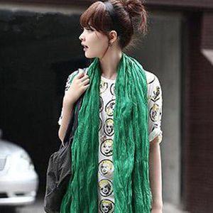 Dlouhý dámský lehký šátek v mnoha barvách