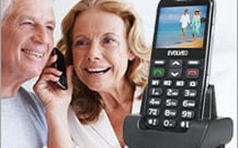 Jednoduchý mobilní telefon pro seniory - EVOLVEO EasyPhone XD za bombastickou senu 769 Kč!