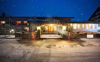 5denní tatranský pobyt s wellness a masáží v rodinném hotelu Nezábudka *** pro 1 osobu