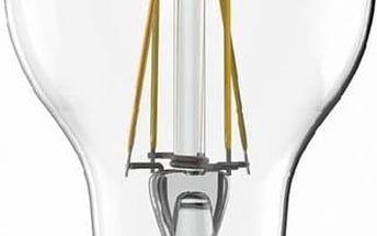 Žárovka LED Tesla Crystal Retro klasik, 4W, E27, teplá bílá