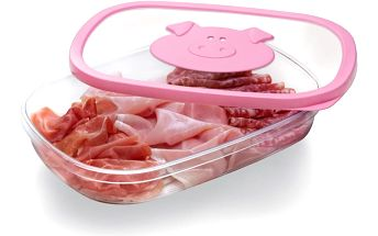 Krabička na salámy Snips Pig, 1,5 l